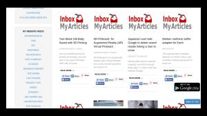 Inbox My Articles